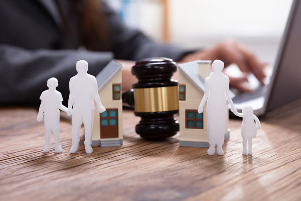 When drafting a will, you should determine your children's care.